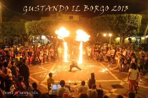 Un momento di Gustando il Borgo 2013 - Ph. by Frank Armocida
