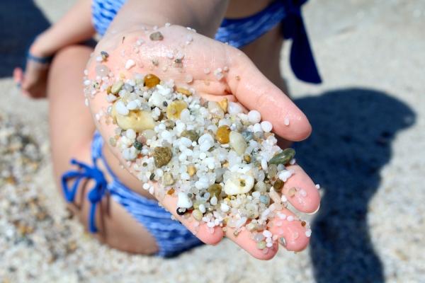 Spiaggia di Is Arutas - Sabbia di quarzo - Sardegna